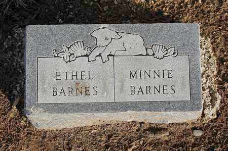 BARNES, MINNIE - Cherokee County, Kansas | MINNIE BARNES - Kansas Gravestone Photos