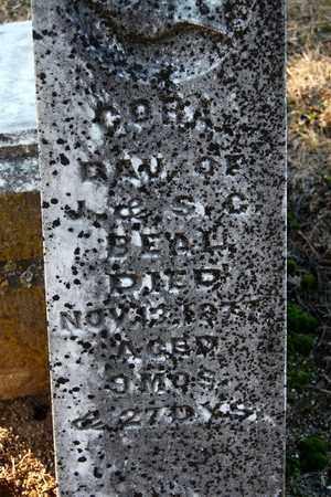 BEAL, CORA - Cherokee County, Kansas | CORA BEAL - Kansas Gravestone Photos