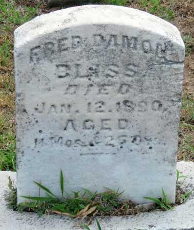 BLISS, FRED DAMON - Cherokee County, Kansas   FRED DAMON BLISS - Kansas Gravestone Photos