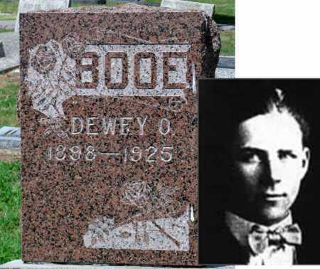 BOOE, DEWEY OTIS - Cherokee County, Kansas   DEWEY OTIS BOOE - Kansas Gravestone Photos
