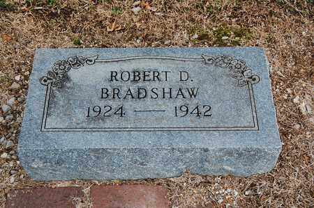 BRADSHAW, ROBERT D - Cherokee County, Kansas   ROBERT D BRADSHAW - Kansas Gravestone Photos