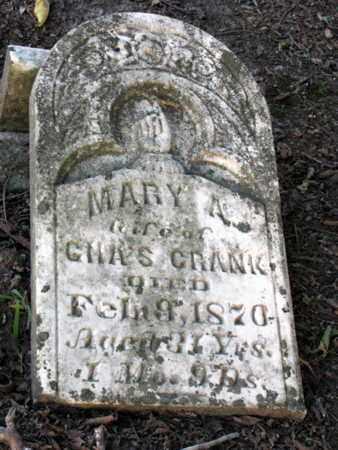 CRANK, MARY A - Cherokee County, Kansas | MARY A CRANK - Kansas Gravestone Photos