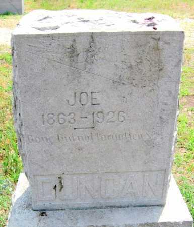 DUNCAN, JOE - Cherokee County, Kansas   JOE DUNCAN - Kansas Gravestone Photos