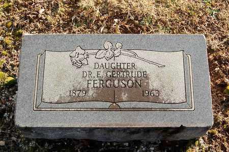 FERGUSON, E GERTRUDE, DR - Cherokee County, Kansas   E GERTRUDE, DR FERGUSON - Kansas Gravestone Photos
