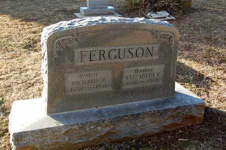 CROUSE FERGUSON, ELIZABETH V - Cherokee County, Kansas   ELIZABETH V CROUSE FERGUSON - Kansas Gravestone Photos