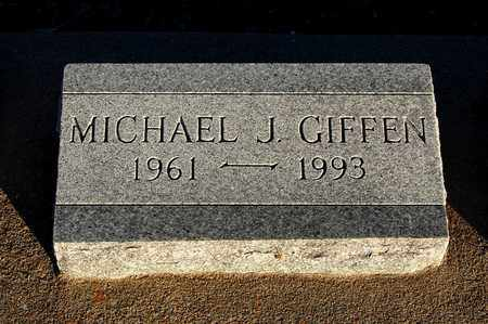 GIFFEN, MICHAEL JAMES - Cherokee County, Kansas | MICHAEL JAMES GIFFEN - Kansas Gravestone Photos
