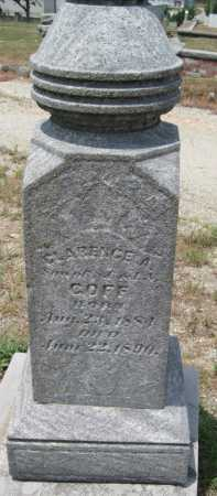 GOFF, CLARENCE A - Cherokee County, Kansas | CLARENCE A GOFF - Kansas Gravestone Photos