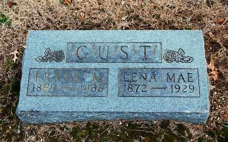 GUST, FRANK M - Cherokee County, Kansas | FRANK M GUST - Kansas Gravestone Photos