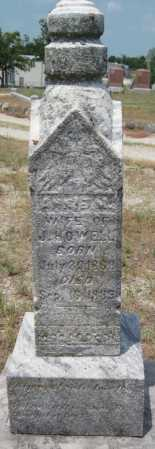 HOWELL, ANNIE M - Cherokee County, Kansas | ANNIE M HOWELL - Kansas Gravestone Photos