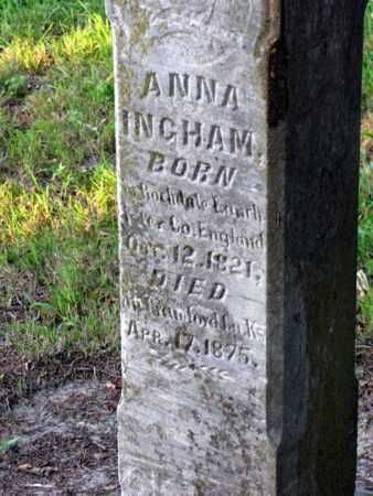 INGHAM, ANNA - Cherokee County, Kansas | ANNA INGHAM - Kansas Gravestone Photos