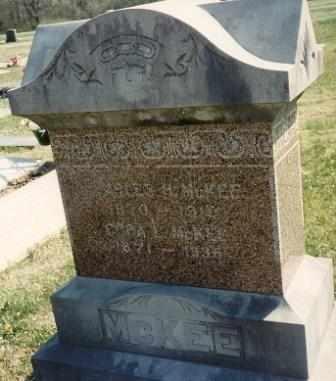 MCKEE, CORA LEE - Cherokee County, Kansas | CORA LEE MCKEE - Kansas Gravestone Photos