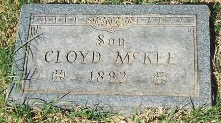 MCKEE, CLOYD - Cherokee County, Kansas   CLOYD MCKEE - Kansas Gravestone Photos