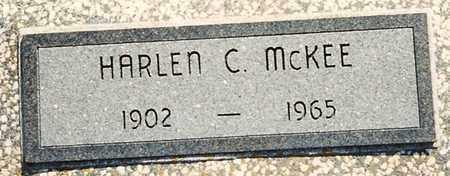 MCKEE, HARLEN C - Cherokee County, Kansas | HARLEN C MCKEE - Kansas Gravestone Photos