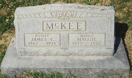 MCKEE, MAGGIE - Cherokee County, Kansas   MAGGIE MCKEE - Kansas Gravestone Photos