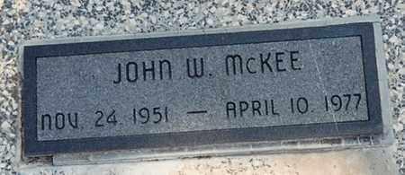 MCKEE, JOHN W - Cherokee County, Kansas | JOHN W MCKEE - Kansas Gravestone Photos
