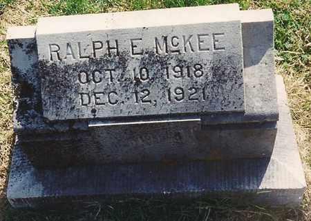 MCKEE, RALPH E - Cherokee County, Kansas   RALPH E MCKEE - Kansas Gravestone Photos