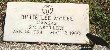 MCKEE, BILLIE LEE  (VETERAN KOREA) - Cherokee County, Kansas   BILLIE LEE  (VETERAN KOREA) MCKEE - Kansas Gravestone Photos