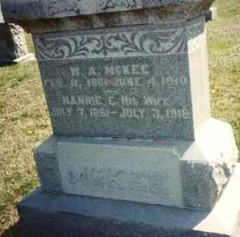 MCKEE, WILLIAM ALFREDDD - Cherokee County, Kansas   WILLIAM ALFREDDD MCKEE - Kansas Gravestone Photos