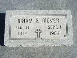 MEYER, MARY E - Cherokee County, Kansas | MARY E MEYER - Kansas Gravestone Photos