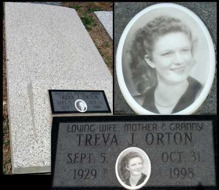 THOMAS ORTON, TREVA JANELL - Cherokee County, Kansas   TREVA JANELL THOMAS ORTON - Kansas Gravestone Photos