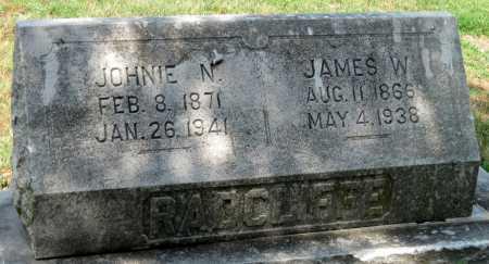 RADCLIFFE, JAMES W - Cherokee County, Kansas | JAMES W RADCLIFFE - Kansas Gravestone Photos
