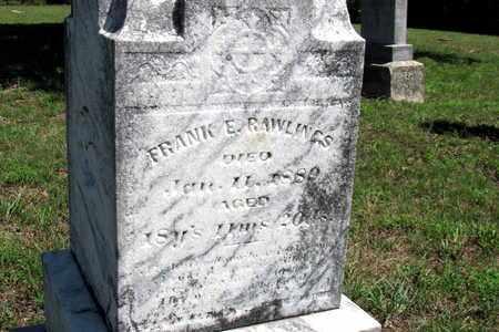 RAWLINGS, FRANK - Cherokee County, Kansas   FRANK RAWLINGS - Kansas Gravestone Photos