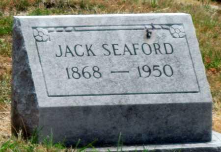SEAFORD, JACK - Cherokee County, Kansas | JACK SEAFORD - Kansas Gravestone Photos