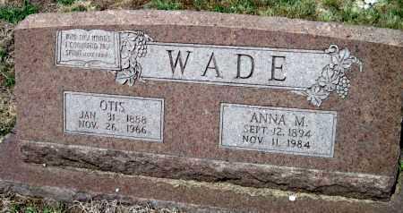 WADE, ANNA M - Cherokee County, Kansas | ANNA M WADE - Kansas Gravestone Photos