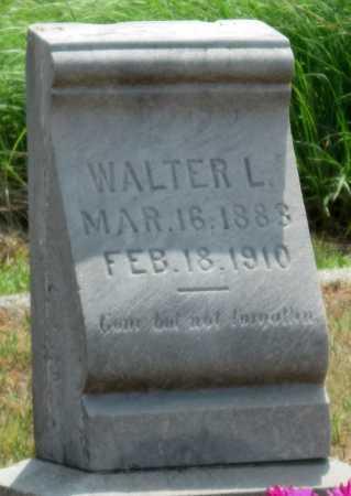 WARTHEN, WALTER L - Cherokee County, Kansas | WALTER L WARTHEN - Kansas Gravestone Photos