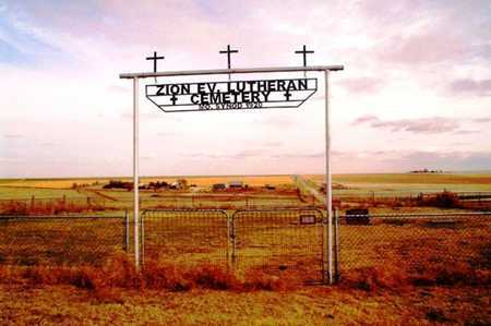 *GATE AND OVERVIEW,  - Cheyenne County, Kansas |  *GATE AND OVERVIEW - Kansas Gravestone Photos