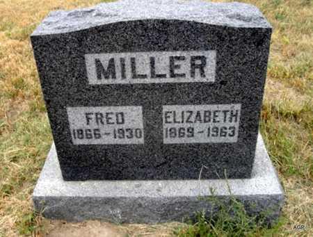 WEIST MILLER, ELIZABETH - Cheyenne County, Kansas | ELIZABETH WEIST MILLER - Kansas Gravestone Photos
