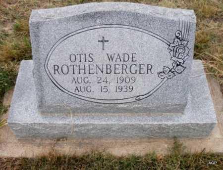 ROTHENBERGER, OTIS WADE - Cheyenne County, Kansas   OTIS WADE ROTHENBERGER - Kansas Gravestone Photos
