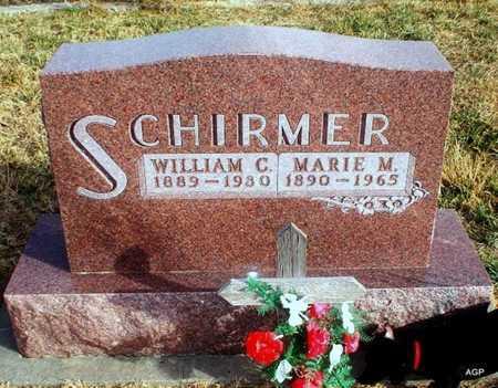 SCHIRMER, WILLIAM C - Cheyenne County, Kansas | WILLIAM C SCHIRMER - Kansas Gravestone Photos