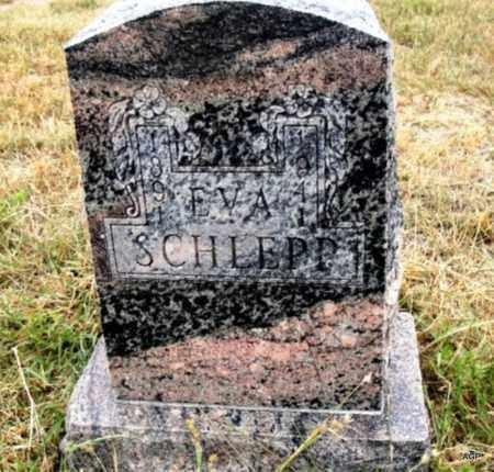 SCHLEPP, EVA - Cheyenne County, Kansas | EVA SCHLEPP - Kansas Gravestone Photos