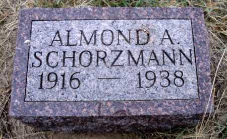 SCHORZMAN, ALMOND ALBERT - Cheyenne County, Kansas | ALMOND ALBERT SCHORZMAN - Kansas Gravestone Photos