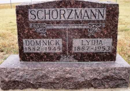 SCHORZMAN, DOMNICK - Cheyenne County, Kansas | DOMNICK SCHORZMAN - Kansas Gravestone Photos