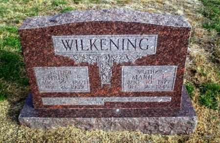 NIERMEIER WILKENING, MARIE LOUISE CHARLOTTE - Cheyenne County, Kansas | MARIE LOUISE CHARLOTTE NIERMEIER WILKENING - Kansas Gravestone Photos