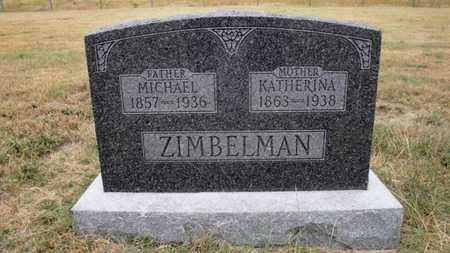 ZIMBELMAN, KATHERINA - Cheyenne County, Kansas | KATHERINA ZIMBELMAN - Kansas Gravestone Photos