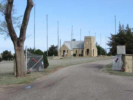 *CHURCH,  - Clark County, Kansas    *CHURCH - Kansas Gravestone Photos