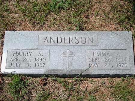 PAULIN ANDERSON, EMMA ANASTASIA - Cloud County, Kansas | EMMA ANASTASIA PAULIN ANDERSON - Kansas Gravestone Photos