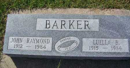 BARKER, JOHN RAYMOND - Cloud County, Kansas | JOHN RAYMOND BARKER - Kansas Gravestone Photos