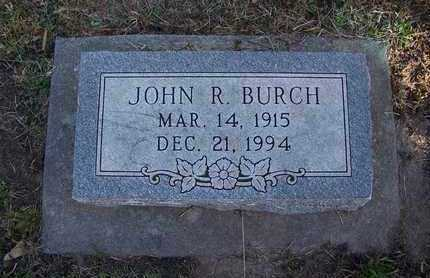 BURCH, JOHN RUSSELL - Cloud County, Kansas | JOHN RUSSELL BURCH - Kansas Gravestone Photos