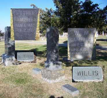 "CAMPBELL, WILSON ""WILLIS"" MARION - Cloud County, Kansas 