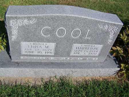 COOL, HARRISON - Cloud County, Kansas | HARRISON COOL - Kansas Gravestone Photos