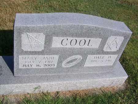 COOL, DALE D - Cloud County, Kansas | DALE D COOL - Kansas Gravestone Photos