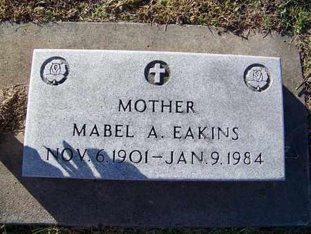 EAKINS, MABEL ANN - Cloud County, Kansas | MABEL ANN EAKINS - Kansas Gravestone Photos