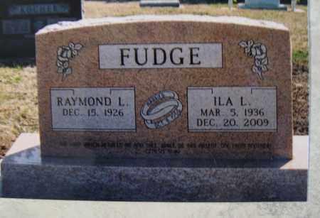 FUDGE, ILA LUCILLE - Cloud County, Kansas | ILA LUCILLE FUDGE - Kansas Gravestone Photos