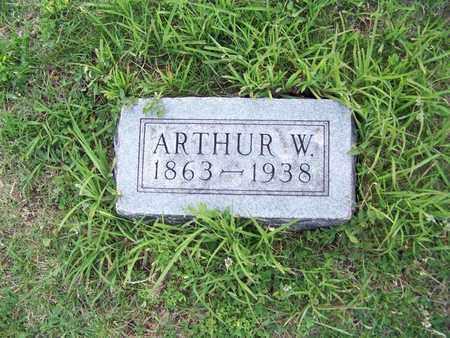 KING, ARTHUR W  (2) - Cloud County, Kansas | ARTHUR W  (2) KING - Kansas Gravestone Photos
