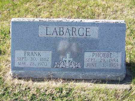 LABARGE, FRANK - Cloud County, Kansas | FRANK LABARGE - Kansas Gravestone Photos