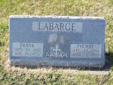 LABARGE, PHOEBE - Cloud County, Kansas | PHOEBE LABARGE - Kansas Gravestone Photos